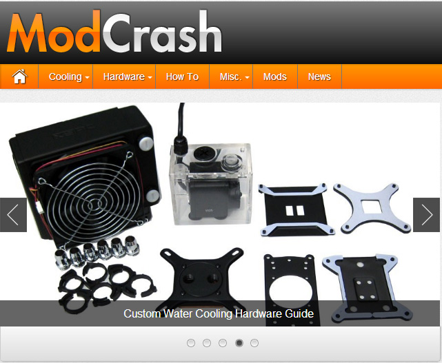 My Tech Blog ModCrash Has Launched!